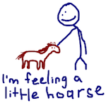 Feeling a little hoarse