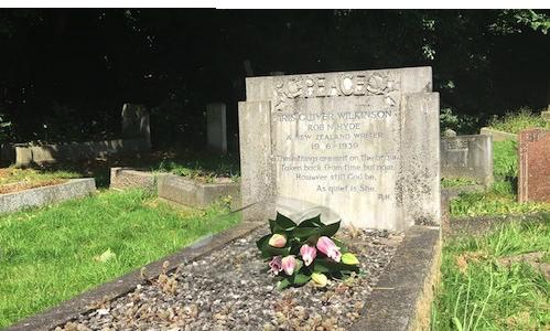 Iris Wilkinsons Grave