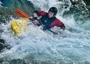 Jan Capinsky White Water Rafting