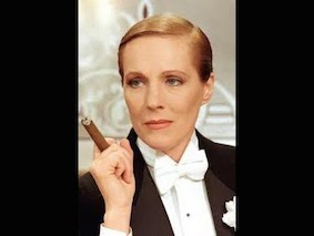 Julie Andrews as Victor/Victoria