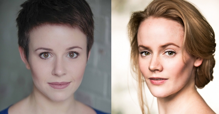 Audition Oracle Award winners Katherine Aitken and Lizzie Holmes