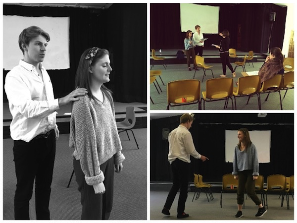 Laura Attridge in the rehearsal room   Audition Oracle