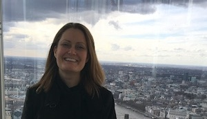 Taking a look at the view from The Shard