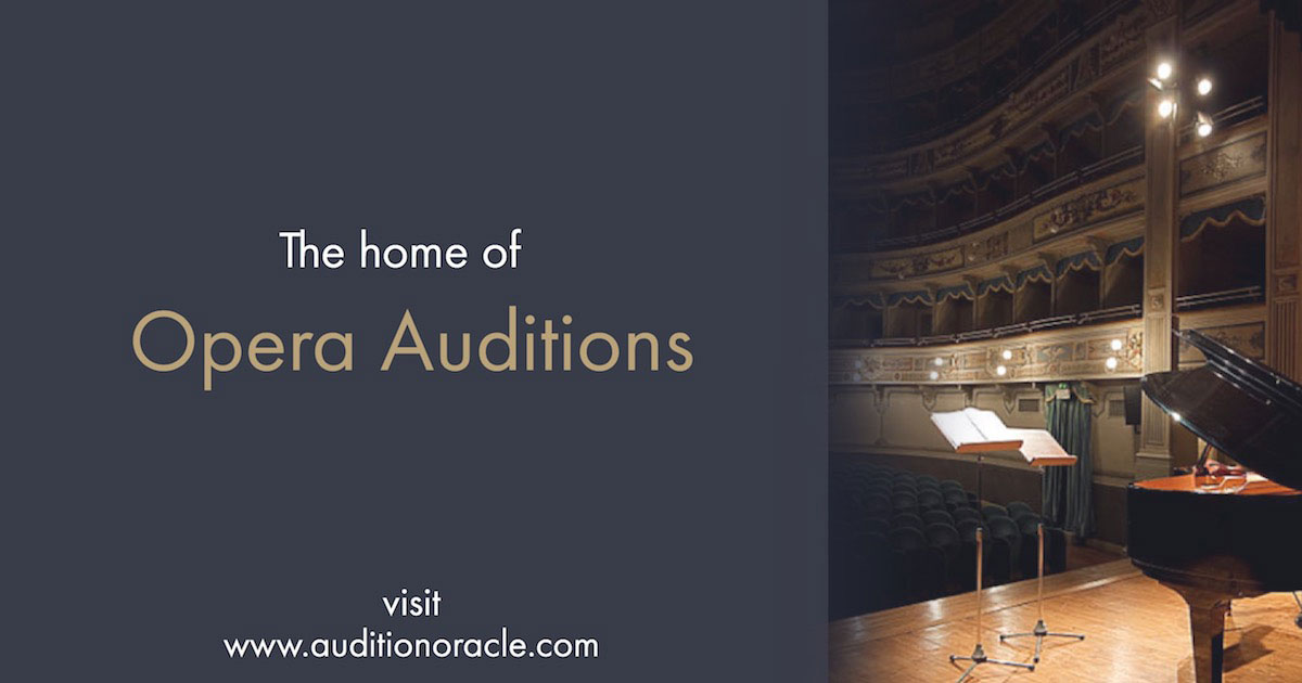 Jobs and auditions for opera singers in the UK, USA and Europe